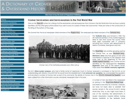 A Dictionary of Cromer & Overstrand History