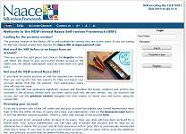 Naace Self Review Framework Online Tool